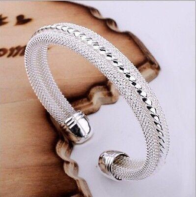 Wholesale Fashion Jewelry Silver Women Bangle/Bracelet Silver XMAS +Cloth Bag
