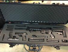 Hard Shell Gun Case Storage Waterproof AR 15 Rifle Scope Lockable Firearm Safety