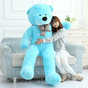 Giant-Big-Teddy-Bear-Plush-Doll-Stuffed-Soft-Toy-Kid-Birthday-Xmas-Gift-Handmade