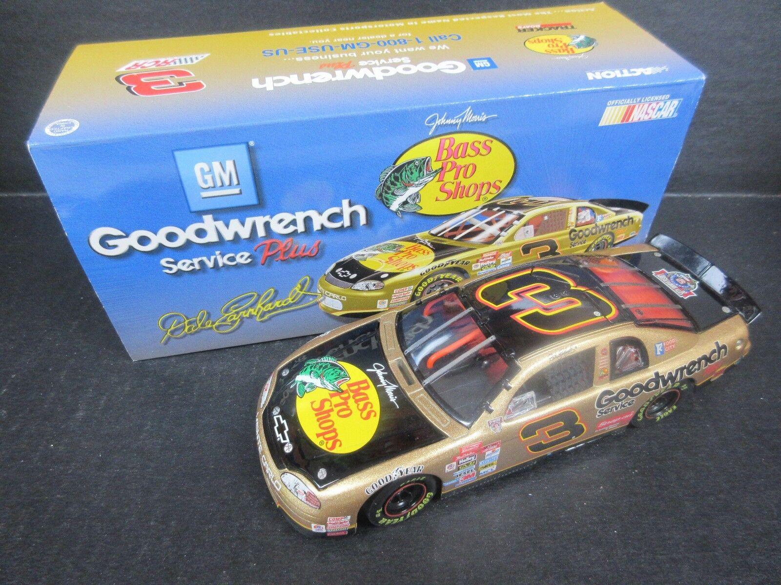 1998 Action  3 Dale Earnhardt--Bass Pro Shops Bank Car -- 1/24th scale