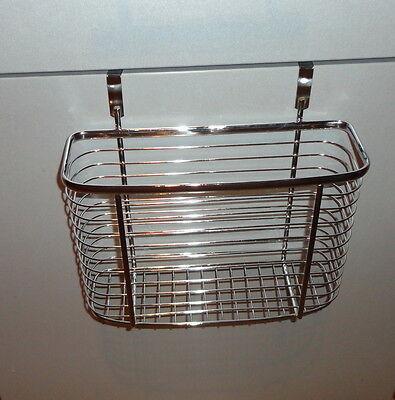Hängekorb für Schranktür, Tür Steck-Regal für Küche u. Bad etc., Putzmittelkorb