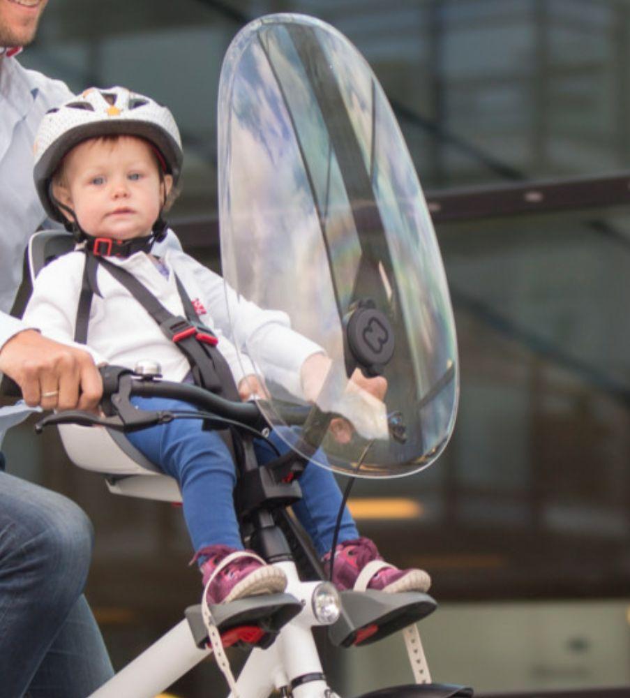 Pare-Brise pour Hamax Hamax Hamax Caress vélo siège enfant Observateur Protection Bouclier Fenêtre 6f1b2e