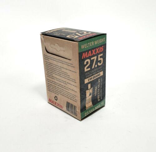 Maxxis Welter Weight 27.5x1.50//1.75 MTB 44mm Presta Valve Inner Tube 144g