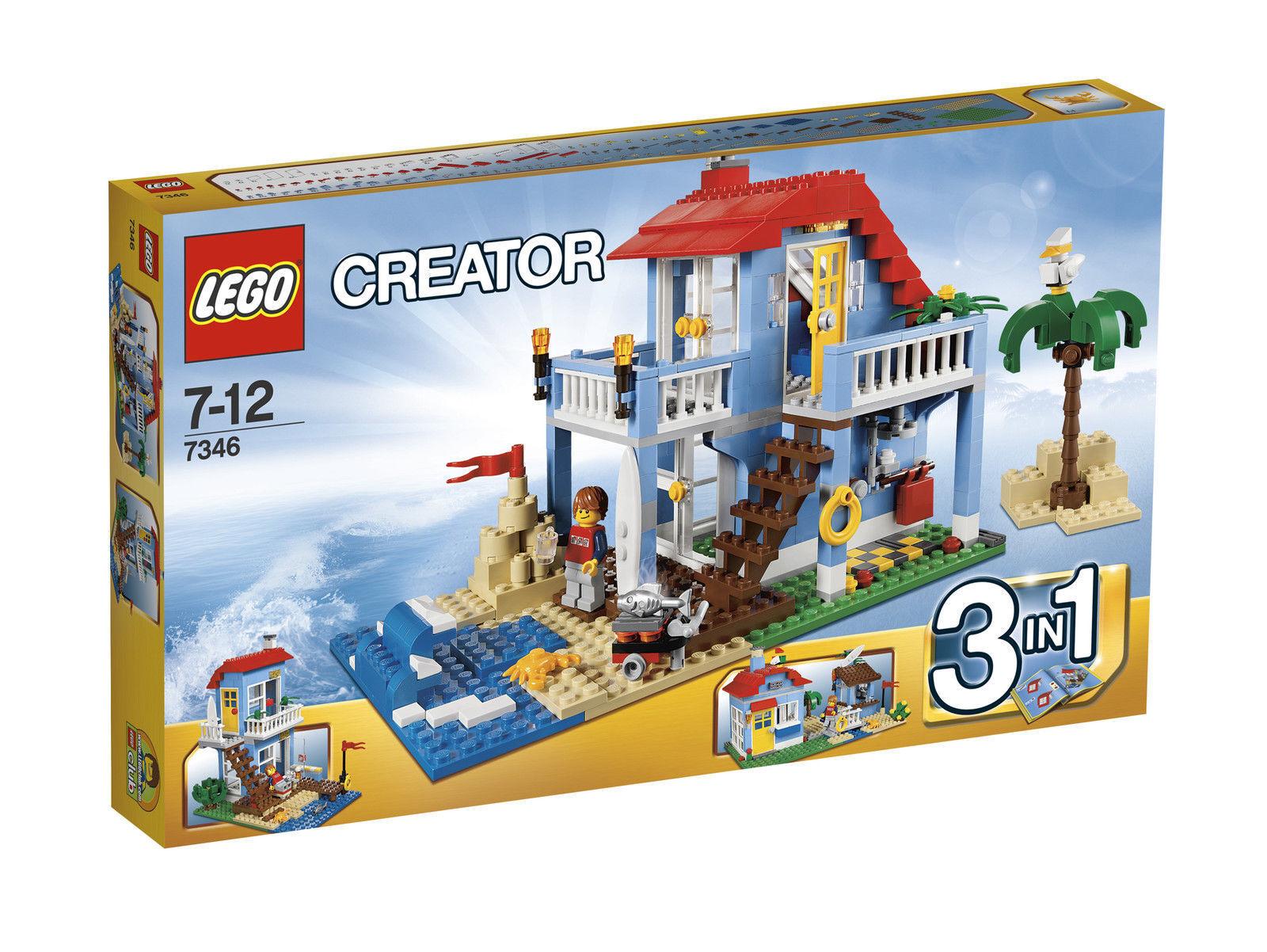 LEGO® 7346 CREATOR Strandhaus Strandhaus Strandhaus NEU & OVP Cooler 3-in-1-Bauspaß 2c55a8