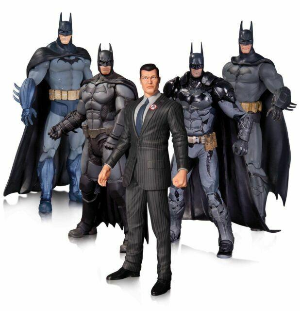 Dc Collectibles Arkham Batman Action Figure 5 Pack Toy For Sale Online Ebay
