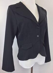 Wrapper-Blazer-Womens-Juniors-Size-13-Black-Long-Sleeve
