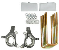 Chevy Lift Spindles Kit 1999 - 06 1500 Trucks 3 / 2 Aluminum Suspension Blocks