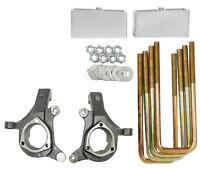 Chevy Lift Spindles Kit 1999 - 06 1500 Trucks 3 / 2 Aluminum Suspension Blocks