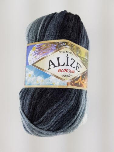 ALIZE Wolle Alize Burcum Batik Türkische Wolle fantastischer Farbverlauf 100g