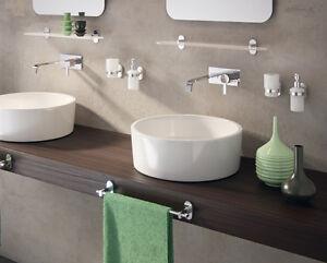Set accessori bagno da muro febo gedy acciaio cromato garanzia 10
