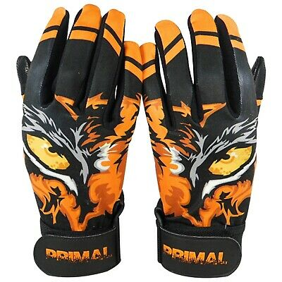 "Primal Baseball/'s Adult Pro Baseball Batting Gloves /""BONEZ/"" Size MEDIUM"