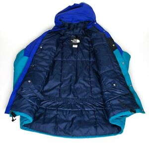 The-North-Face-TNF-Gore-Tex-GTX-Made-in-USA-Jacket-Coat-Blue-Mens-Size-Medium-M