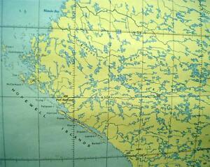 Quebec Topographic Map.Canadian Government Topographic Map Kogaluk River Quebec Quadrant