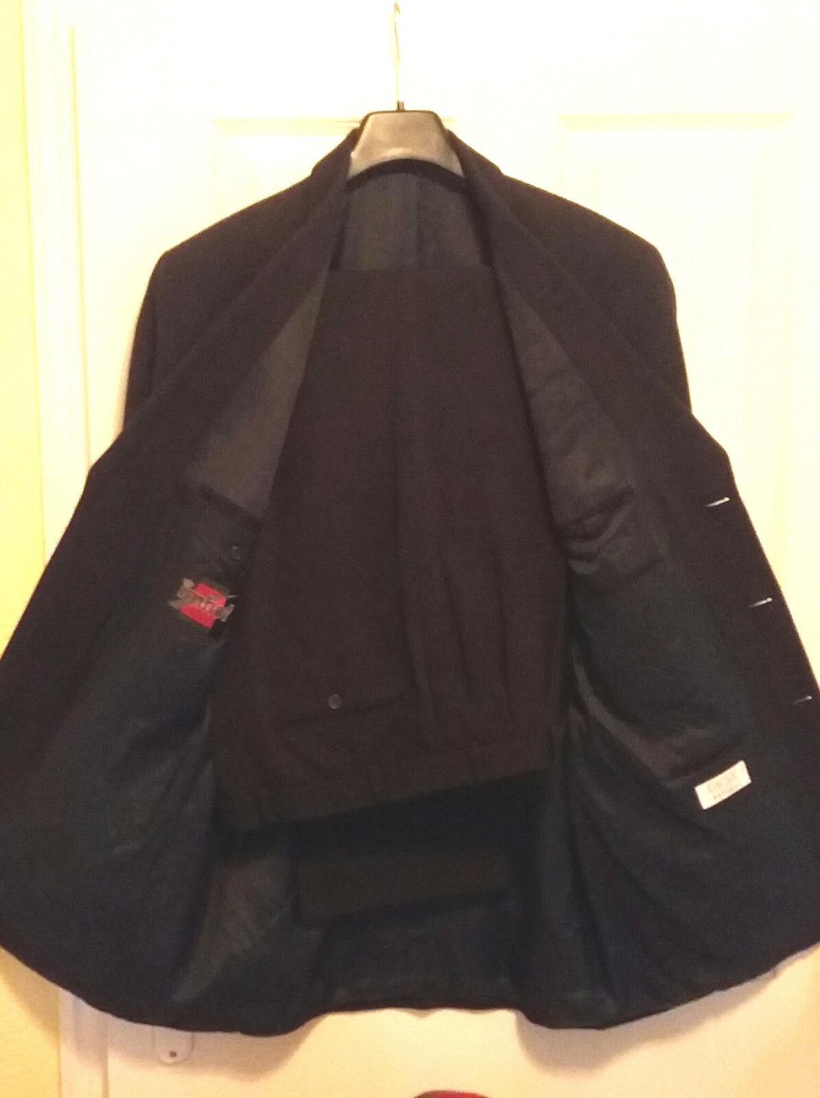 Anzug von DIGEL Variofit Wollm. Blau Größe 106 XL 54 Top Zustand Top Qualität