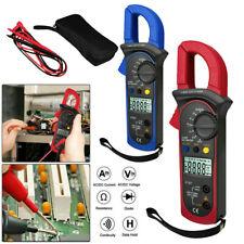 Handheld Digital Multimeter Tester Ac Dc Volt Ohm Amp Clamp Meter Auto Range Lcd