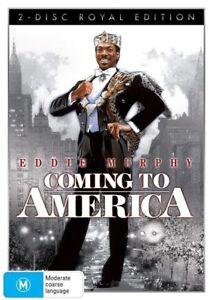 Coming To America 1988 Dvd 2 Disc Royal Edition Eddie Murphy Arsenio Hall Ebay
