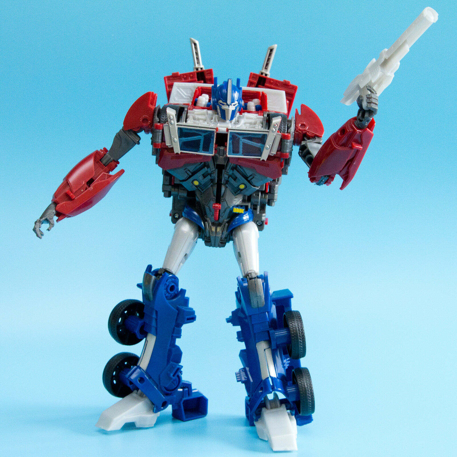Figure PRIME OPTIMUS Weaponizer RID Prime Transformers 2011