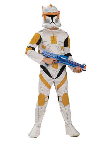 Child Star Wars Commander Cody Storm Clone Trooper Fancy Dress Costume Ages 3-10