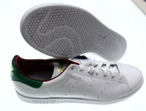 NIB - ADIDAS Men s STAN SMITH LUX AQ0868 LEATHER LOW TOP White ... ed99997666a6