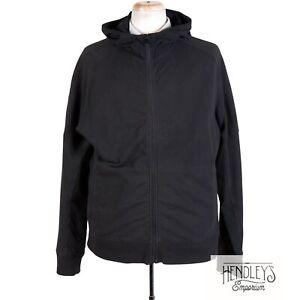 LULULEMON-Jacket-XXL-Charcoal-Black-STUDIO-HOODIE-Full-Zip-Stretch-French-Terry