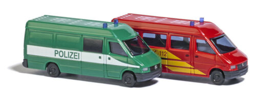 Polizei Und Feuerwehr Busch 8309-1//160 Neu