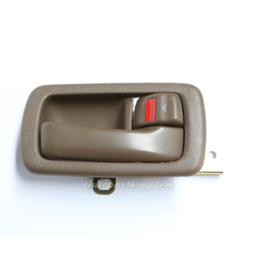 Right Brown Fits 92-96 Toyota Camry Inside Door Handle Front or Rear
