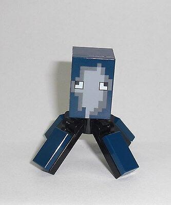 Nett Lego Minecraft - Tintenfisch / Squid - Figur Minifig Ozean Ocean Oktopus 21136 Bequem Und Einfach Zu Tragen