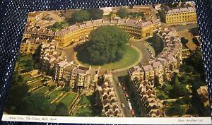 United-Kingdom-England-Aerial-View-the-Circus-Bath-2DC-898-John-Hinde-unused