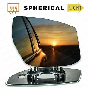 For-Right-Driver-side-wing-door-mirror-glass-for-Nissan-Pulsar-2014-19-heated