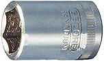 """Steckschl.-Einsatz 1/4"""" 7/16"""" 6kt. Gedore E/D/E Logistik-Cente"""
