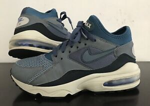 Details about Nike Airmax 93 Men Sneaker Size 6US 5.5UK 38.5EUR. Blue. 306551 400