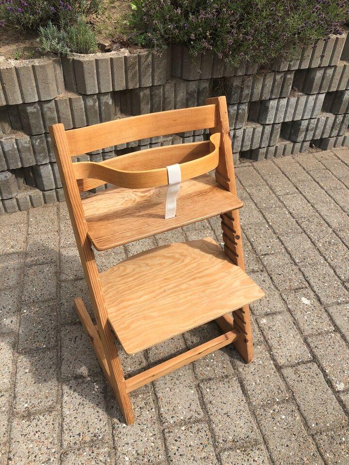 Højstol, Tripp trapp stol - hjemme-snedkereret