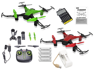 Neu Sky Phantom Wifi FPV Drone Bündel Mit Must Have Zubehör - 23pcs Set