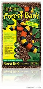 Exo Terra Reptile Terrarium Forest Bark Substrate  24qt