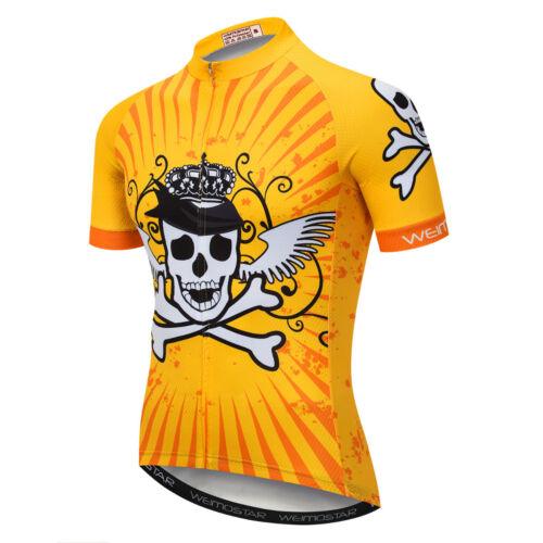 Men/'s Cycling Jersey Bicycle Short Sleeve Shirt Cycling Top Bike Clothing YL90