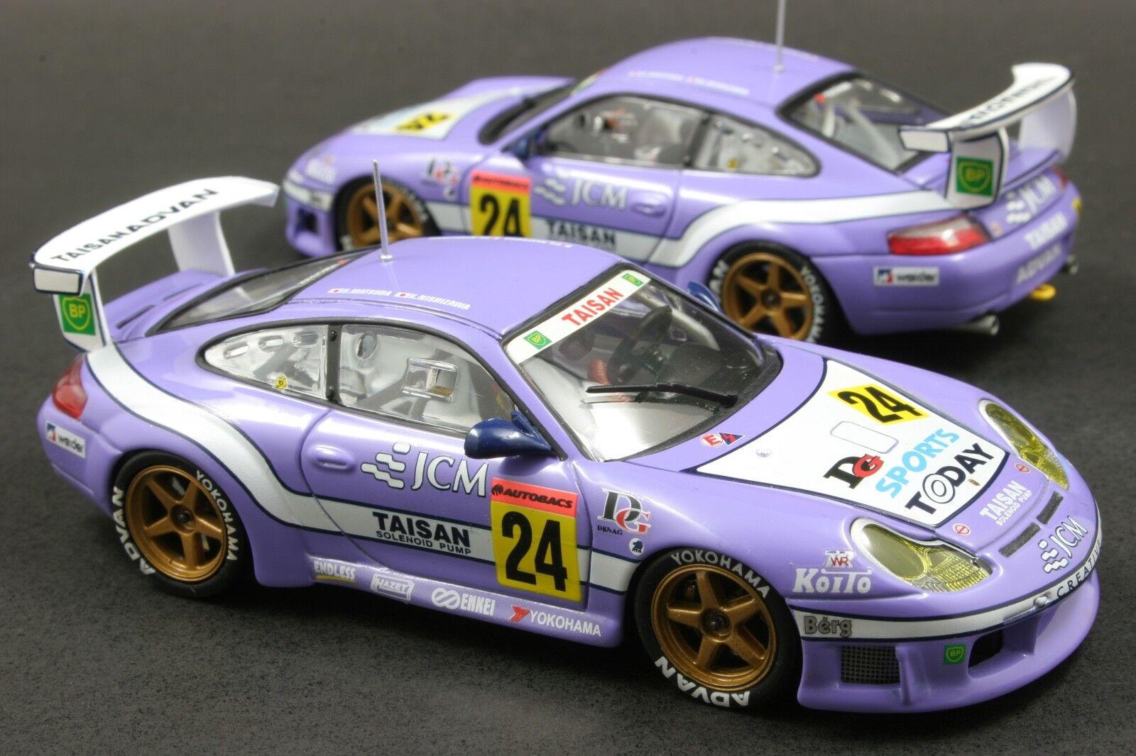 Ebbro 43230 1 43 skala jcm taisan porsche 911 996 gt3r jgtc 2001 druckguss - modell