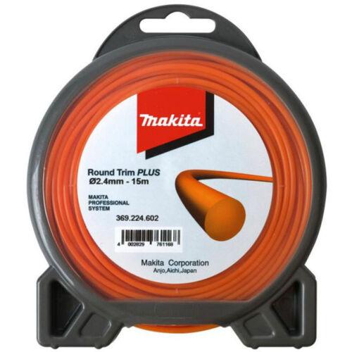 Makita Mähfaden Round Trimm Plus rund 2,4 mm x 15m