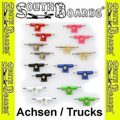 Konstruktiv Fingerboard Trucks / Achsen Mit Lenkgummis Von Southboards® Für Fingerskateboard