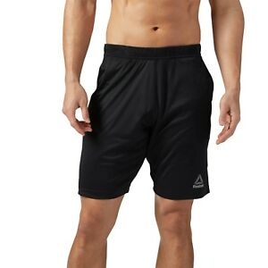 im Angebot modischer Stil Gutscheincode Details about REEBOK MEN FITNESS & TRAINING SPEEDWICK KNIT SHORT