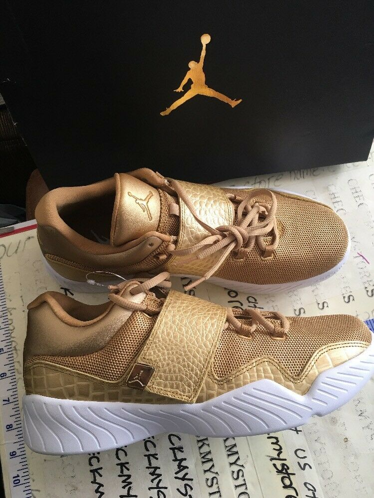 Air Jordan J23 Lace/Strap 854557-700 Metallic Gold White Mens Price reduction The most popular shoes for men and women