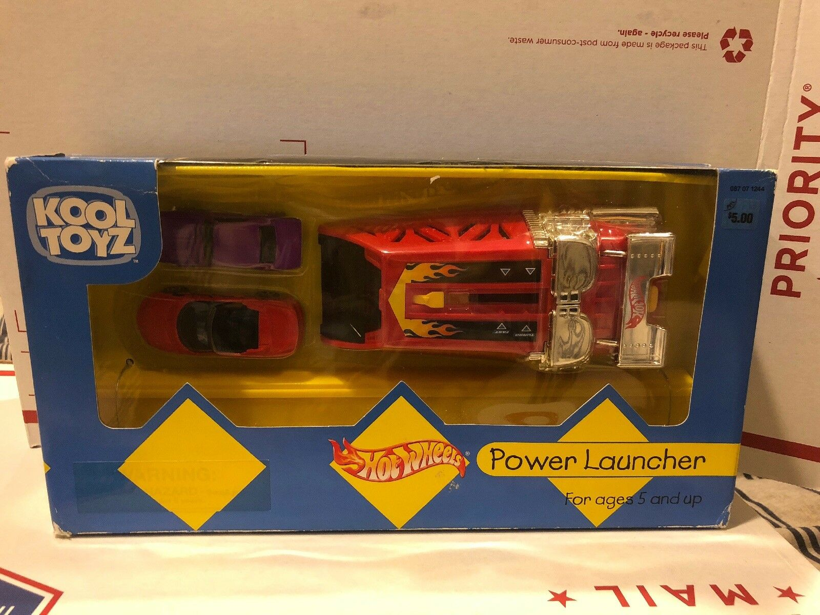 Kool Toyz Target Hot Wheels Power Launcher 67 Camaro Purple Rare