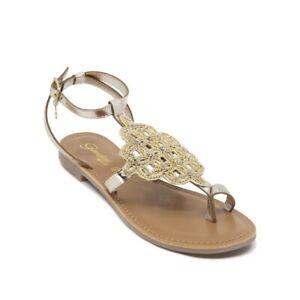 Gardini-Sandalo-Donna-Tacco-Basso-Platinum-1109074-infradito-cinturino-caviglia
