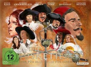 # DVD DIE MUSKETIERE (3 drei) OLIVER REED + CHARLTON HESTON  RICHARD CHAMBERLAIN