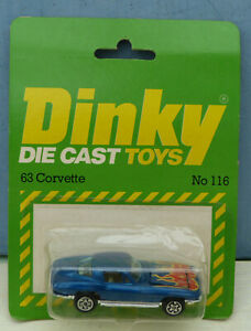 Dinky-Toys-Airfix-ownership-No-116-039-63-Corvette-2-door-Sports-Mint-Packaged