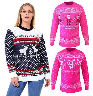 Xmas  Christmas Jumper Sweater Retro Novelty Vinatage  One Size Regular Unisex