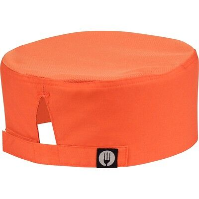 Chefs Cool Vent Beenie ORANGE  Restaurant Kitchen