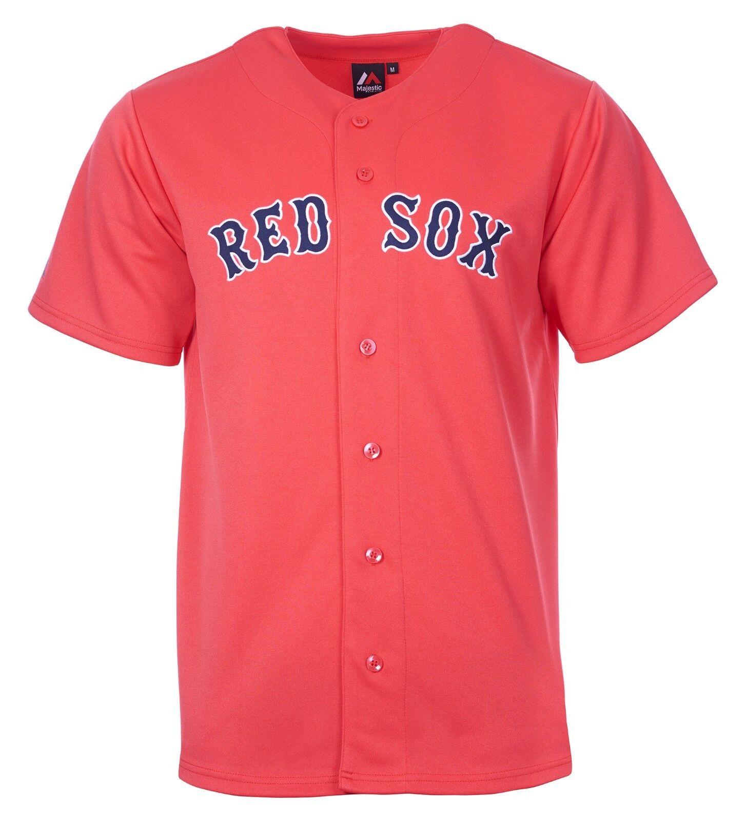 8ca2396f8c25d MLB béisbol camiseta Jersey Jersey Jersey Boston rojo Sox rojo home de  Majestic m67 c000d1