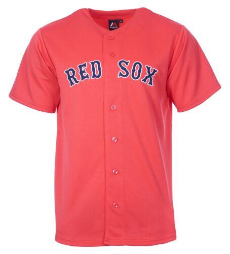 MLB Baseball Trikot Jersey Boston Red Sox rot Home von Majestic M67