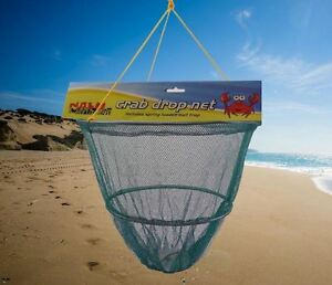 Nalu crab drop net fishing beach rock pools sea spring for Drop net fishing
