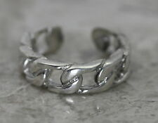 BJC Sterling Silver 925 Gliederkette Design Zehring 1.9 Grams